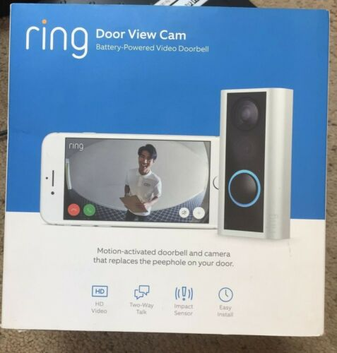 Ring Peephole Cam - Smart Video Doorbell Camera HD video, 2-Way Talk