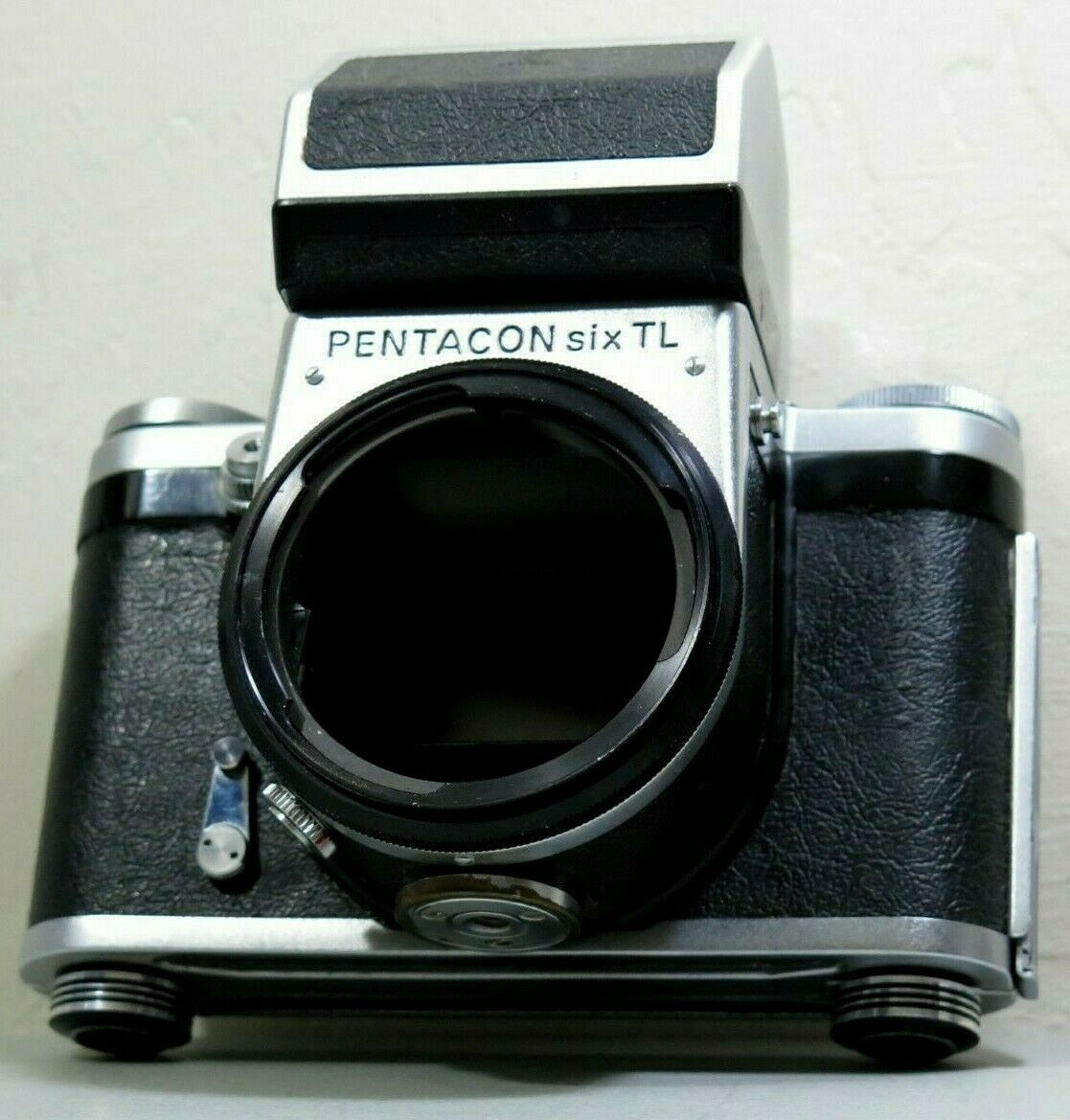 Pentacon Six TL Medium Format German SLR Camera Body Vintage