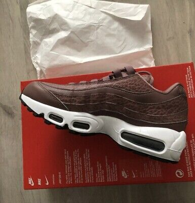 Nike Air Max 95 SE Lea trainers Ladies Womens uk 5.5 BNIB Genuine Brown Colour
