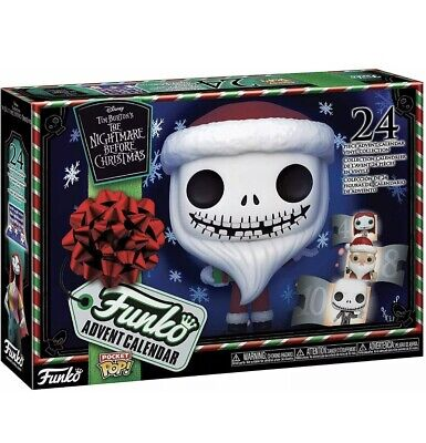 Disney Tim Burton's Nightmare Before Christmas Funko Pop Advent Calendar 2020