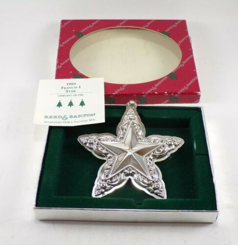 1999 REED & BARTON (175TH) 2ND EDT. FRANCIS 1 STERLING SILVER SNOWFLAKE ORNAMENT