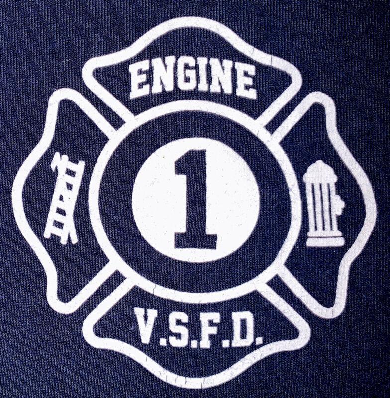 Valley Stream Fire Department Nassau Long Island NY T-Shirt Sz M 1 FDNY
