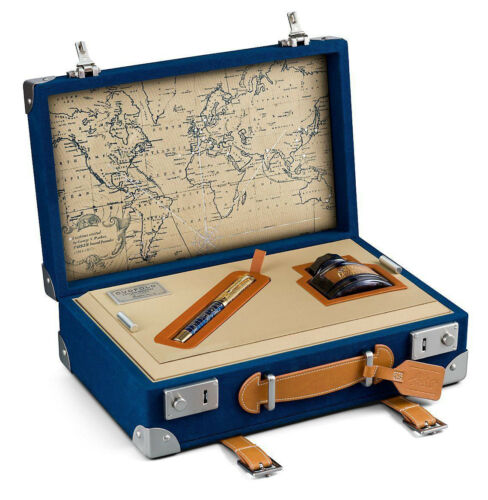 PARKER DUOFOLD LIMITED EDITION 2018 CRAFT OF TRAVELING FOUNTAIN PEN NEW IN BOX