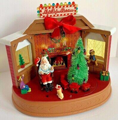 Christmas Santa Claus Tree Train Musical Animated Animated Musical Christmas Tree