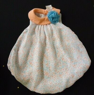 Baby Girl Dresses Special Occasion (Baby Girl Special Occasion Dress 1 Piece 6 Months White Peach Blue Easter)