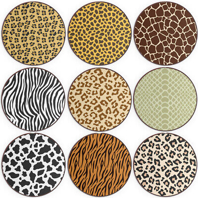 Animal Print QI Wireless Charger For Apple iPhone 11/XS Tiger/Zebra/Leopard Spot