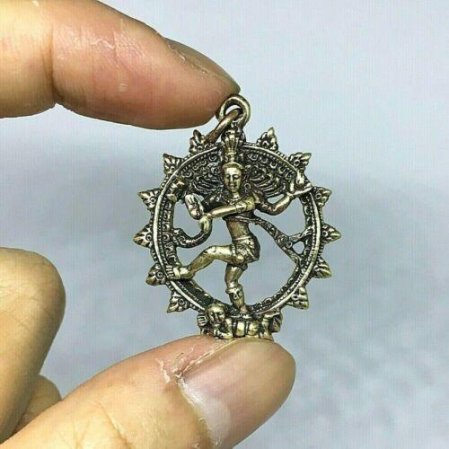 God Shiva Dancing God Nataraja Natraja Hindu Bronze Lord Statue Brass Necklaces