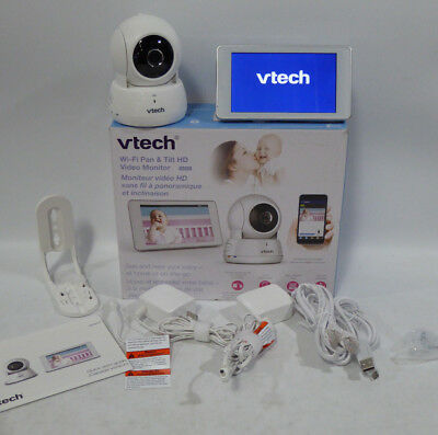Vtech VM991 Wi-Fi Pan &Tilt HD Video Baby Monitor Live Remote Access