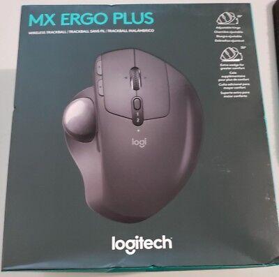 Logitech Mx Ergo Plus Wireless Trackball Mouse  New In Retail Box