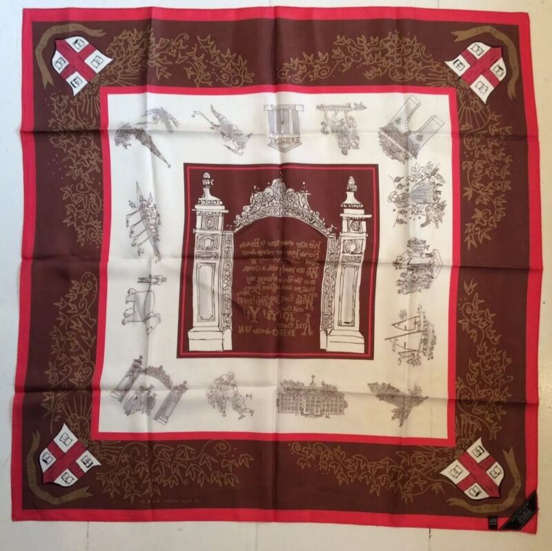 Brown University Silk Scarf 1949 Campions Legacy Collection Brand New ~ *Gift*