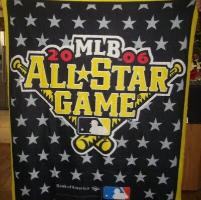 2006 All-Star Game PITSBURG Throw - All Star Throw Blanket
