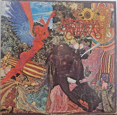 Record Album Santana Abraxas