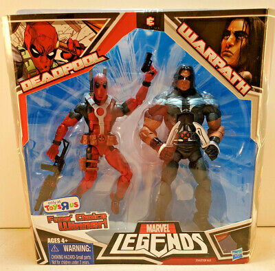 Marvel Legends Deadpool and Warpath Toys R Us Exclusive 2-Pack Authentic!!!