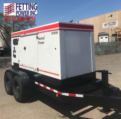 150kw Terex Cummins Mobile Generator Ot180c Sn Gvg-26814