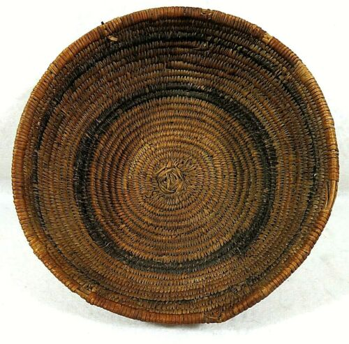 Antique Northwest Coast Native American Indian Small Baskets Ca 1900