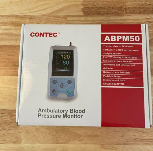 CONTEC ABPM50 Handheld 24hours Ambulatory Blood Pressure Monitor