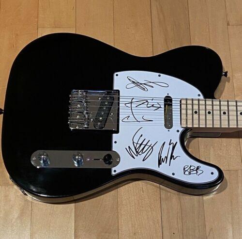 * LINKIN PARK * signed guitar * CHESTER BENNINGTON, SHINODA, HAHN + 3 * COA *