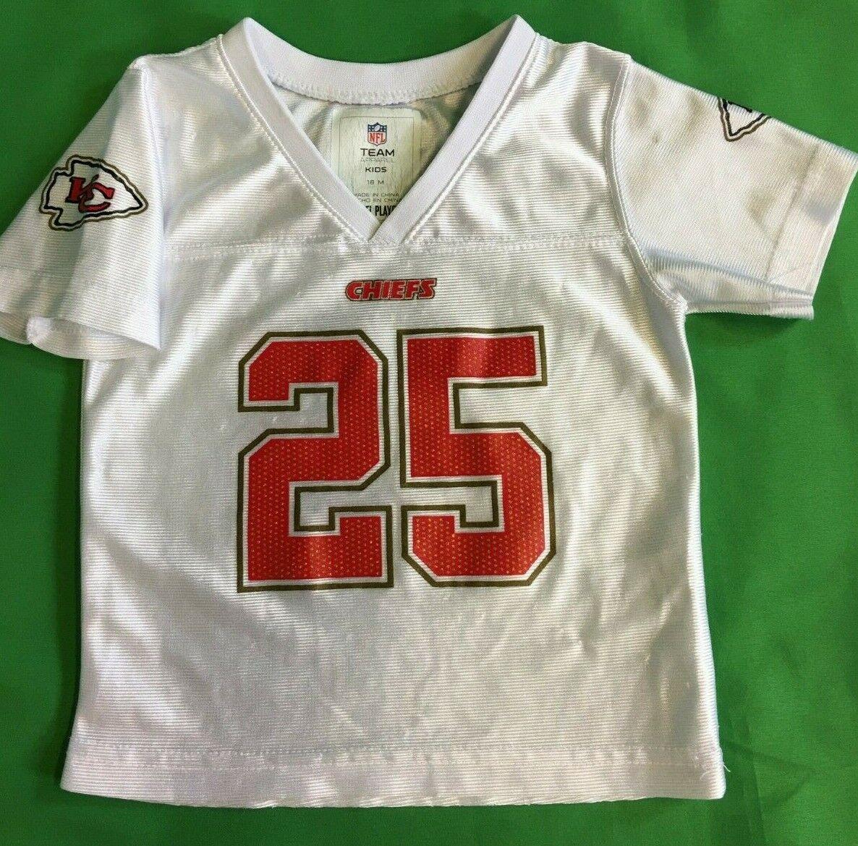 B413/70 NFL Kansas City Chiefs Jamal Charles #25 Girls' Jersey 18 months