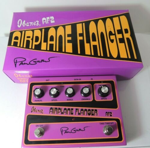 Ibanez Paul Gilbert Airplane Flanger Model AF-2 Effects Pedal Free USA Shipping