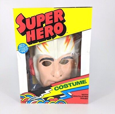 Buck Rogers Vtg 1977 Super Hero Costume New Sealed By Ben Cooper In Box Size 4-6 - 1977 Halloween Costumes