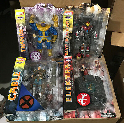 MARVEL SELECT Action Figure Mint In Damaged PKG Wolverine DeadPool Abomination