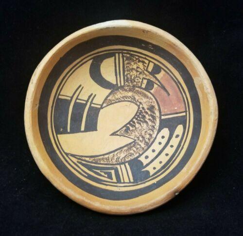 Vintage Hopi Sikyatki Pottery - Shallow Bowl 4 3/4 wide x 1 1/2 deep