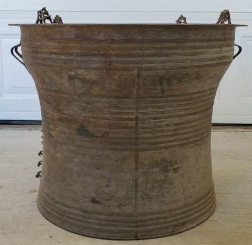 Asian Bronze Rain Drum