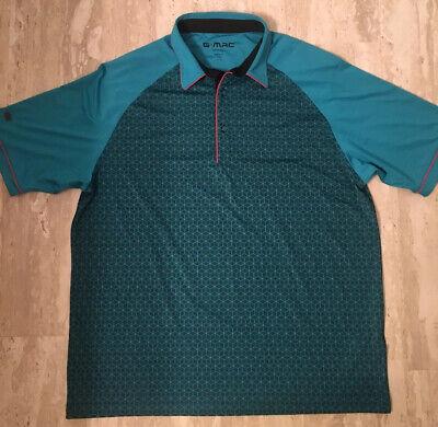 G-Mac Apparel Short Sleeve Polo Golf Shirt Men