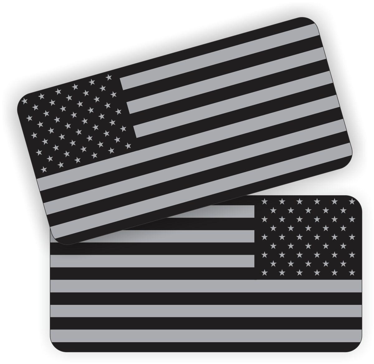 2 american flag black ops hard hat