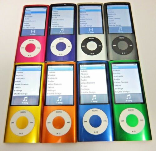 Apple iPod Nano 5th Generation 8, 16 GB - 60 Day Warranty
