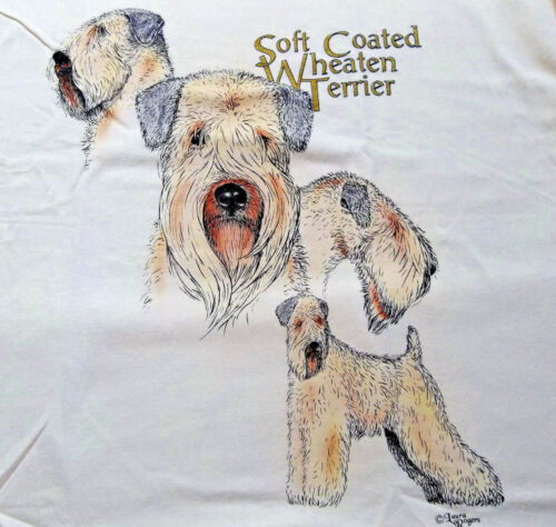 "Soft Coated Wheaten Terrier T-shirt "" Natural "" 2XL ( 50 ~ 52 )"