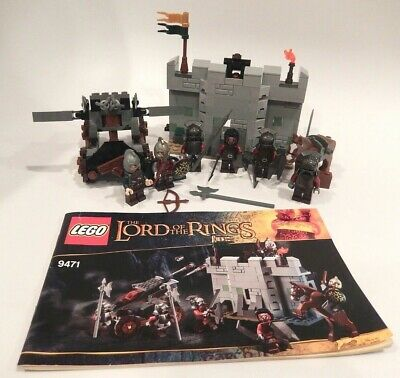Lego 9471 Uruk-hai Army The Hobbit Lord of the Rings 100% Complete
