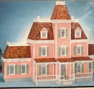 Dollhouse Miniature Real Good Toys #4100 Norcross Dollhouse Kit w/Additon 1:12 Real Good Toys Dollhouses
