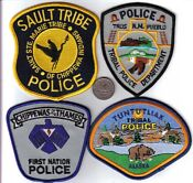 Tribal Police Patches Canada