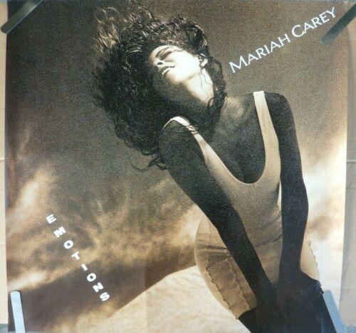 RARE MARIAH CAREY EMOTIONS 1991 VINTAGE ORIGINAL MUSIC STORE PROMO POSTER