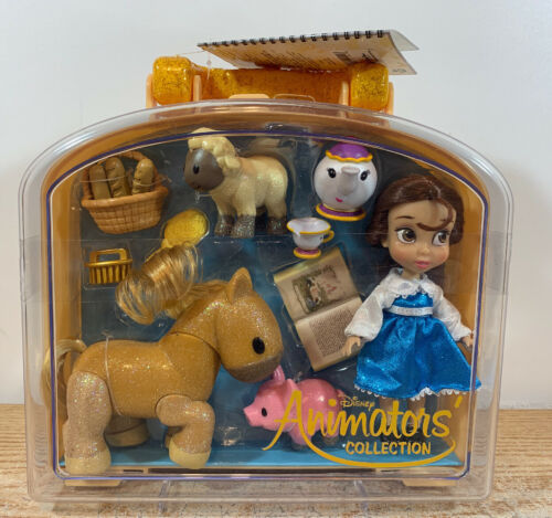 NEW Disney Parks Animators Collection Belle Mini Doll Play S