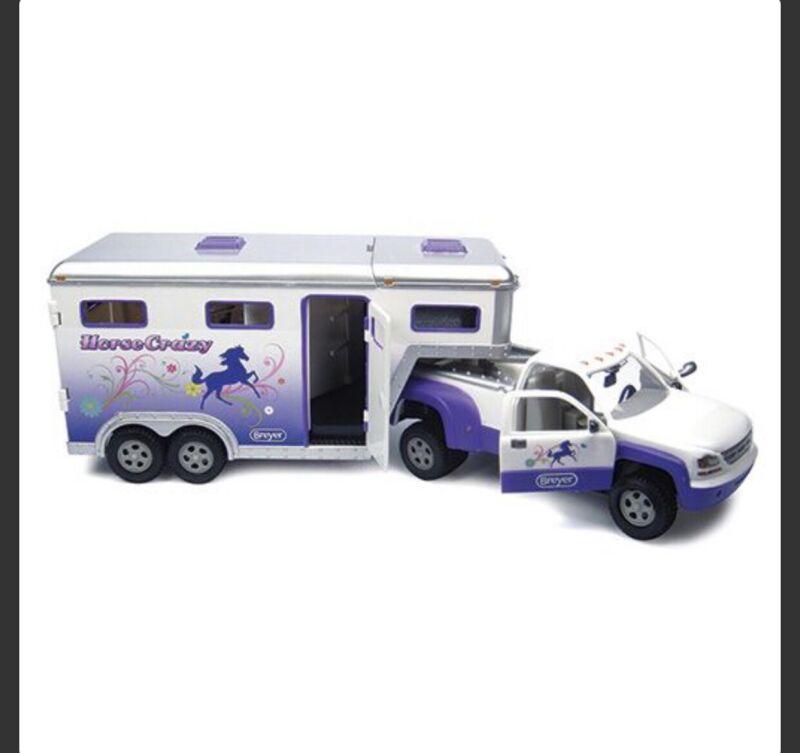 Breyer Stablemates Horse Crazy Truck & Trailer Toy