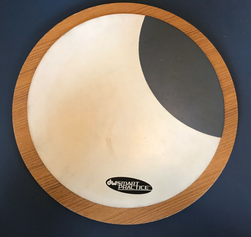 DW DWSMPADMS Multi-Surface Drum Practice Pad - 3 Different Playing Surfaces!