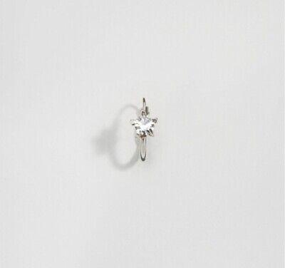 Kingsley Ryan Sterling Silver Gem Set Hoop Earrings