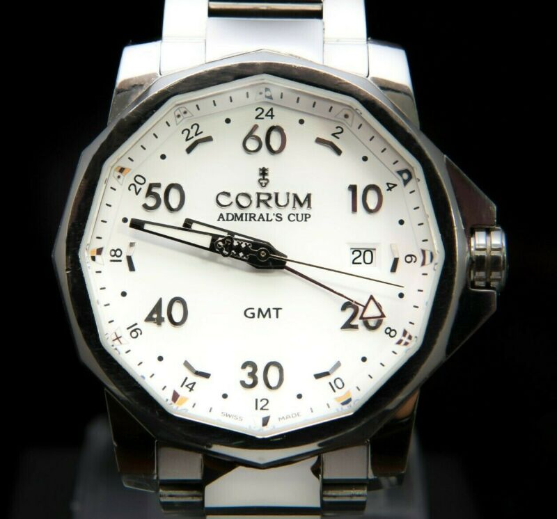 Corum The Admirals Cup GMT Limited Edition 2000 Pieces Automatic – 01.0055 - watch picture 1