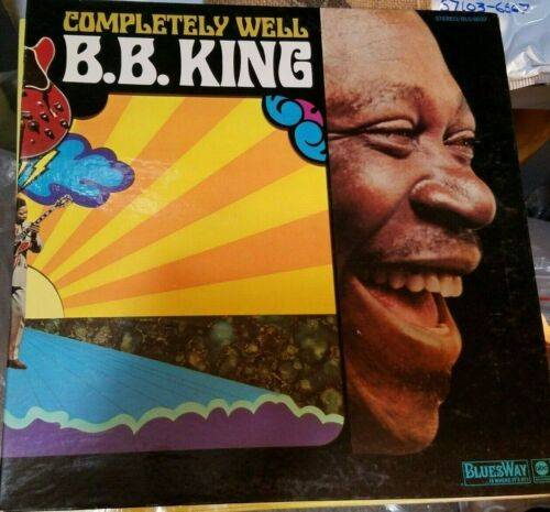 BB KING COMPLETELY WELL CLASSIC BLUES RECORD STEREO BLS/6047 -NICE!