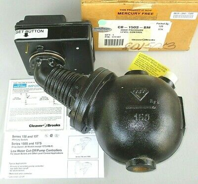 Cleaver-brooks Cb-150s-bm Boiler Pump Lwco Manual Reset 817-2407 817-02407-000