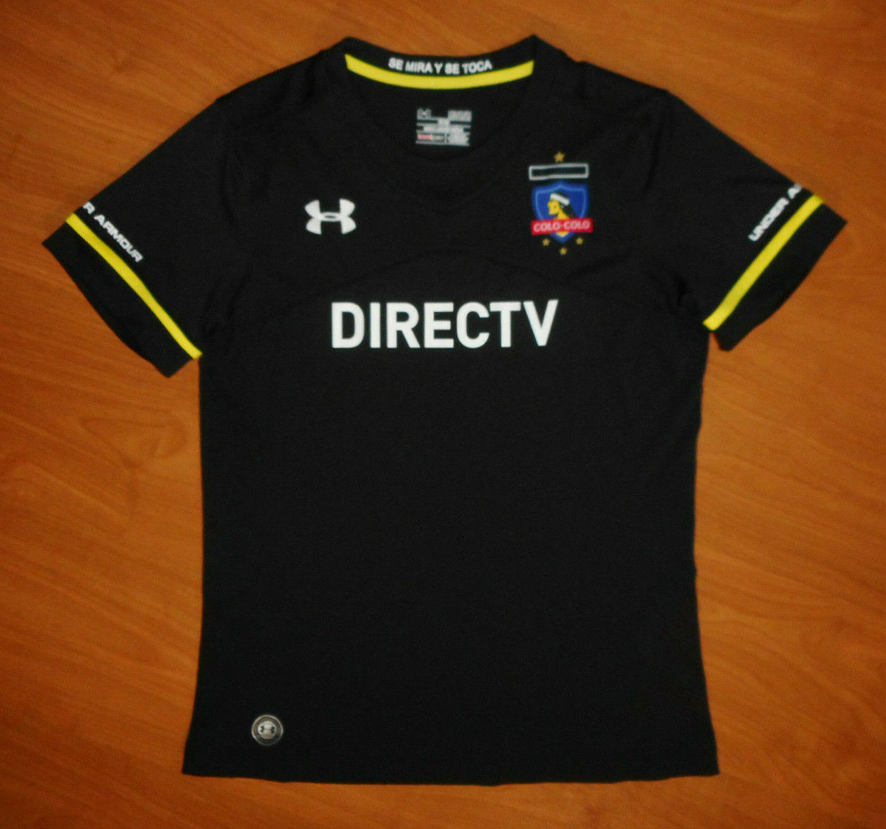 Under Armour Team Colo-Colo Women's Black Away Soccer Jersey