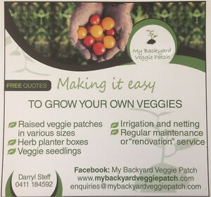 Raised garden beds / veggie patches Kenmore Brisbane North West Preview