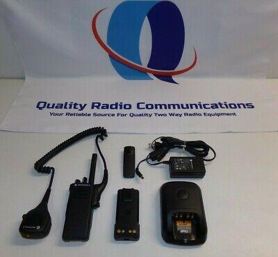 Motorola Mototrbo Xpr7350 403-512 Mhz Uhf Two Way Radio W Charger Aah56rdc9ka1an