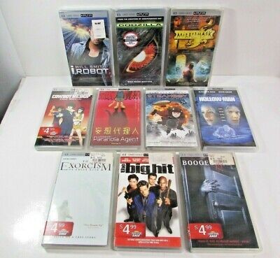 10 PSP UMD Video Movie Lot Collection New & Used Movies