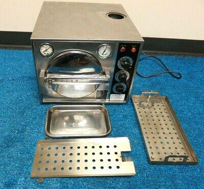 Pelton Crane Omni-clave A3 Dental Autoclave Steam Sterilizer For Instruments