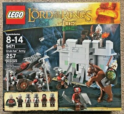 Lego 9471 Lord of the Rings Uruk-Hai Army -Eomer- Rohan -NEW  FREE Shipping