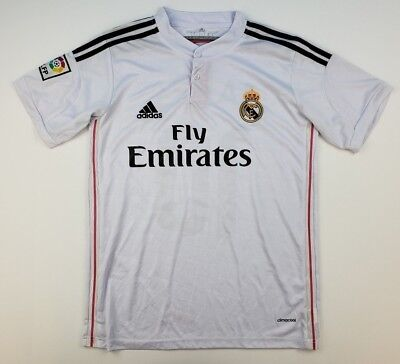 cdc604c2358 Adidas Men s Large Real Madrid James Rodriguez  10 Fly Emirates Soccer  Jersey