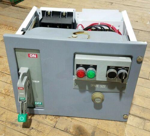 Square D 1211283-001.002 Motor Control Center MCC Bucket 10HP 480V 30A Breaker